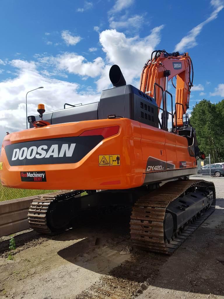 Doosan DX 420 LC-5, Uthyres, Bandgrävare, Entreprenad
