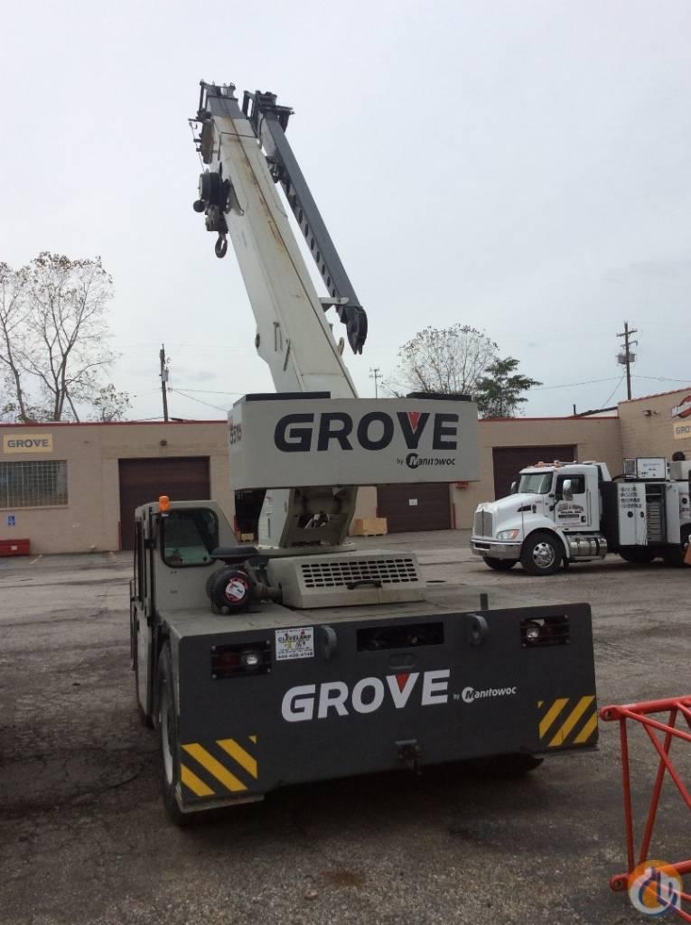 Grove YB 5515, Crane Parts and Equipment, Construction Equipment