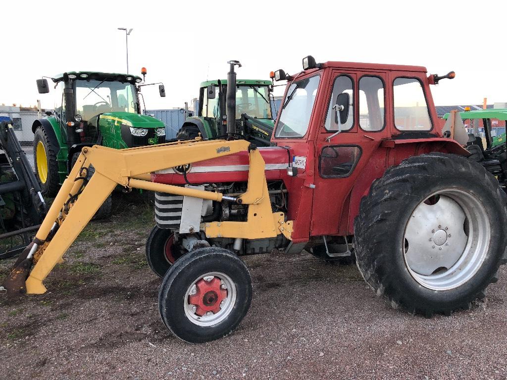 Massey Ferguson 175 Trima 1100 lastare -68, Traktorer, Lantbruk