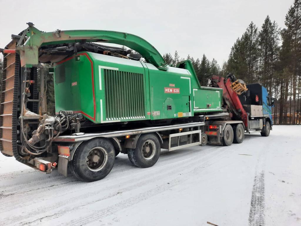 Jenz HEM 820 DL, Haketuskoneet, Metsäkoneet