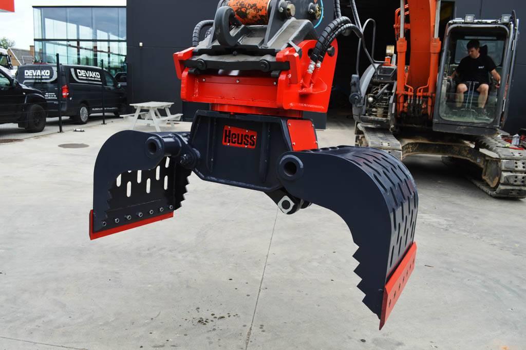 Heuss GSR-16-800, Grijpers, Bouw
