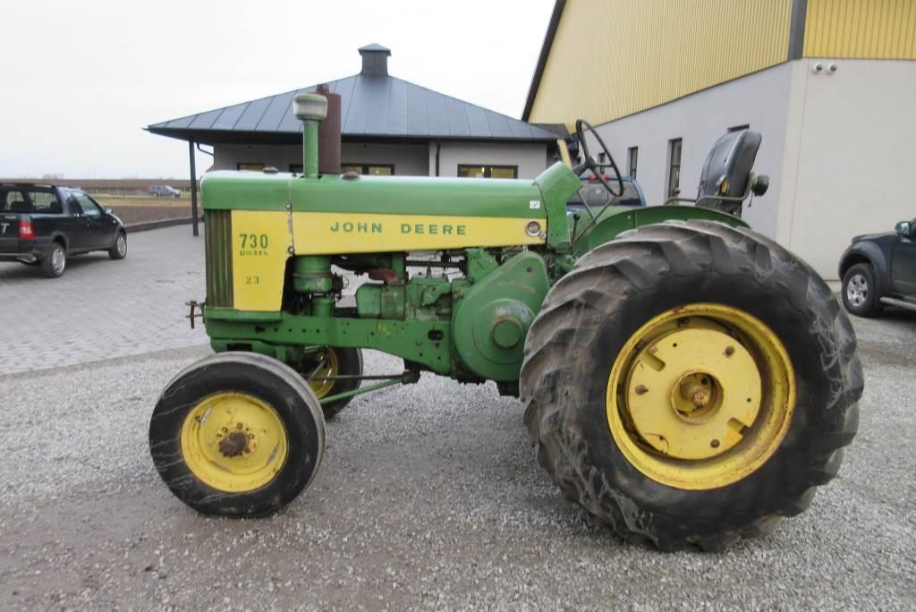 John Deere 730, veterantraktor, Lantbruksmaskiner, Lantbruk