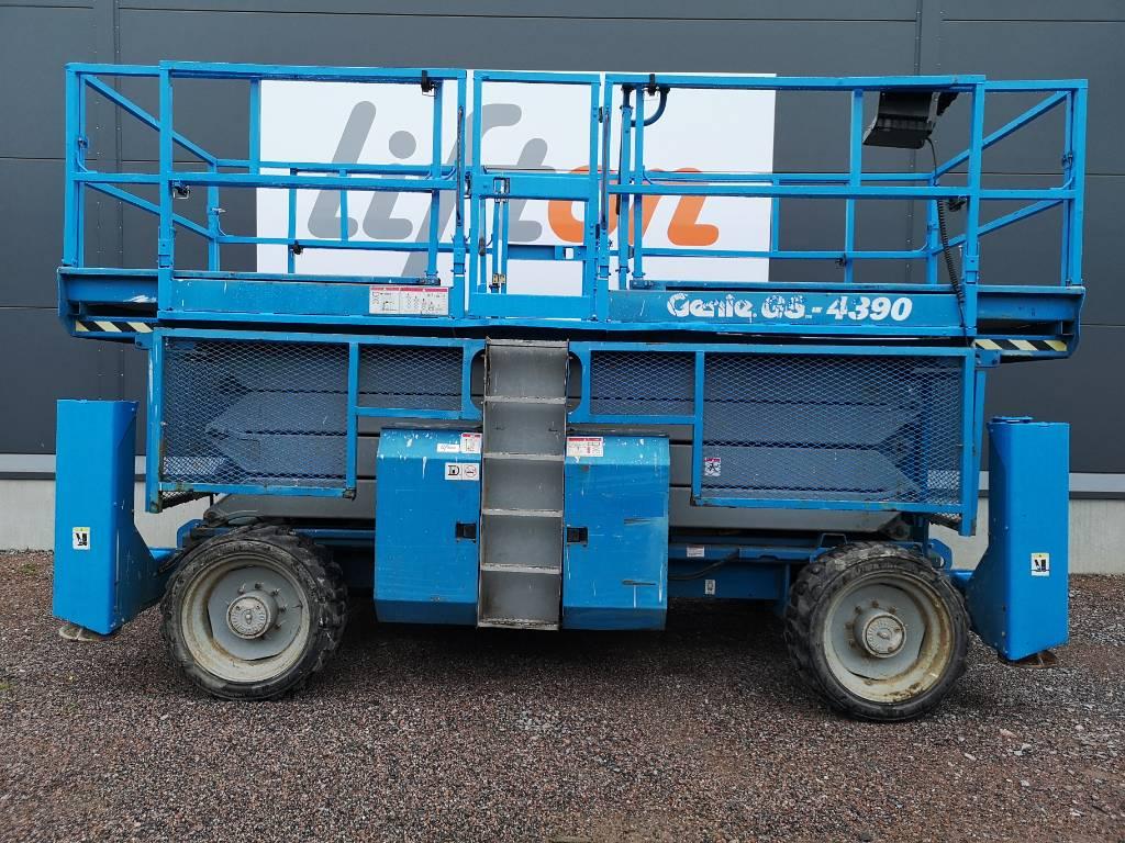 Genie GS 4390 RT, Saxliftar, Entreprenad