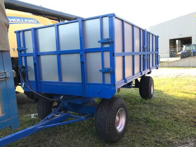 [Other] Spannmåls ekipage 10 ton/st, Spannmålsvagnar, Lantbruk