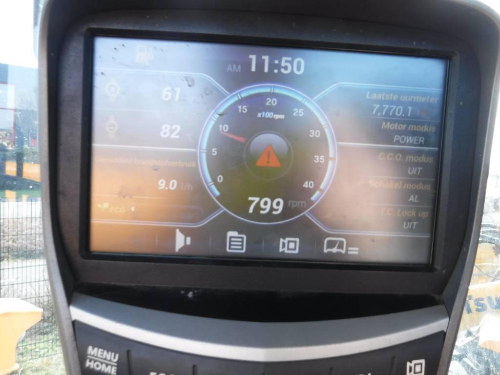 Hyundai HL 955, Wielladers, Bouw