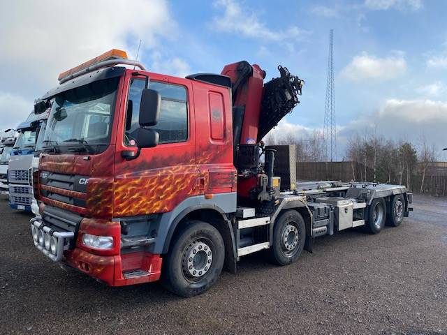 DAF CF85.460 FAX, Boom / Crane / Bucket Trucks, Trucks and Trailers
