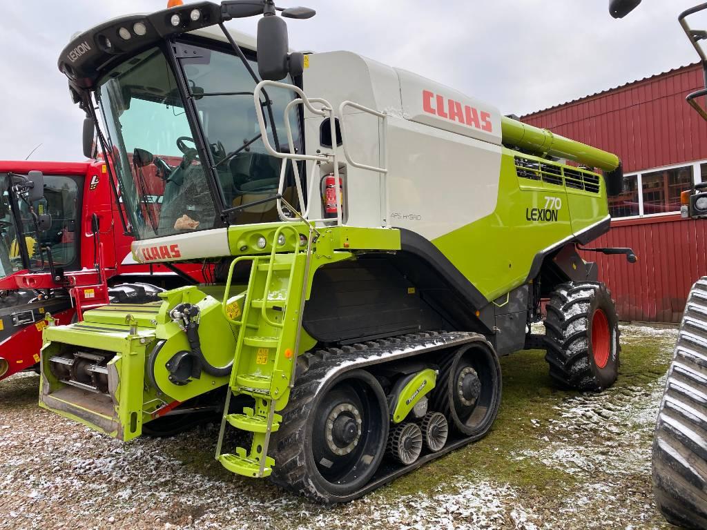 CLAAS Lexion 770 TT, Leikkuupuimurit, Maatalouskoneet