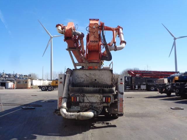 Schwing 47M, Boom Pumps, Construction Equipment
