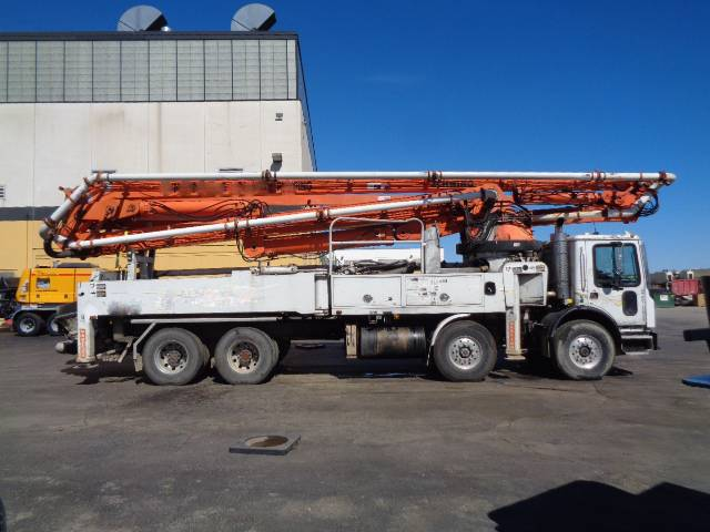 Schwing 47M, Boom Pumps, Construction Equipment