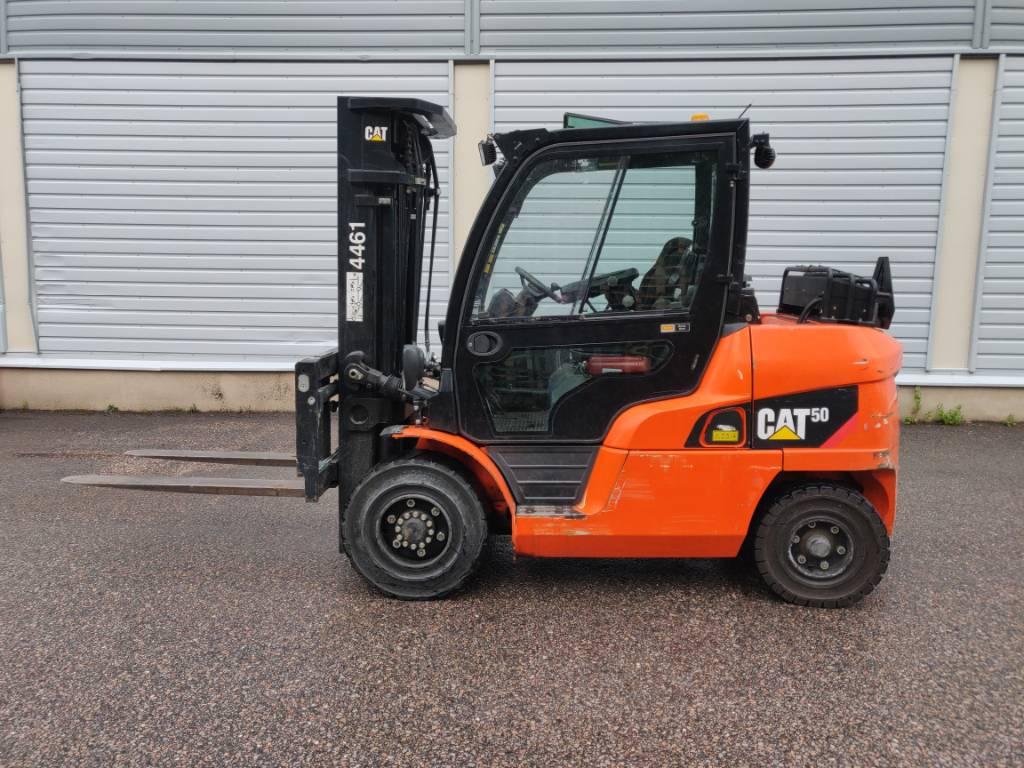 Caterpillar DP 50 CN, Dieseltrukit, Materiaalinkäsittely