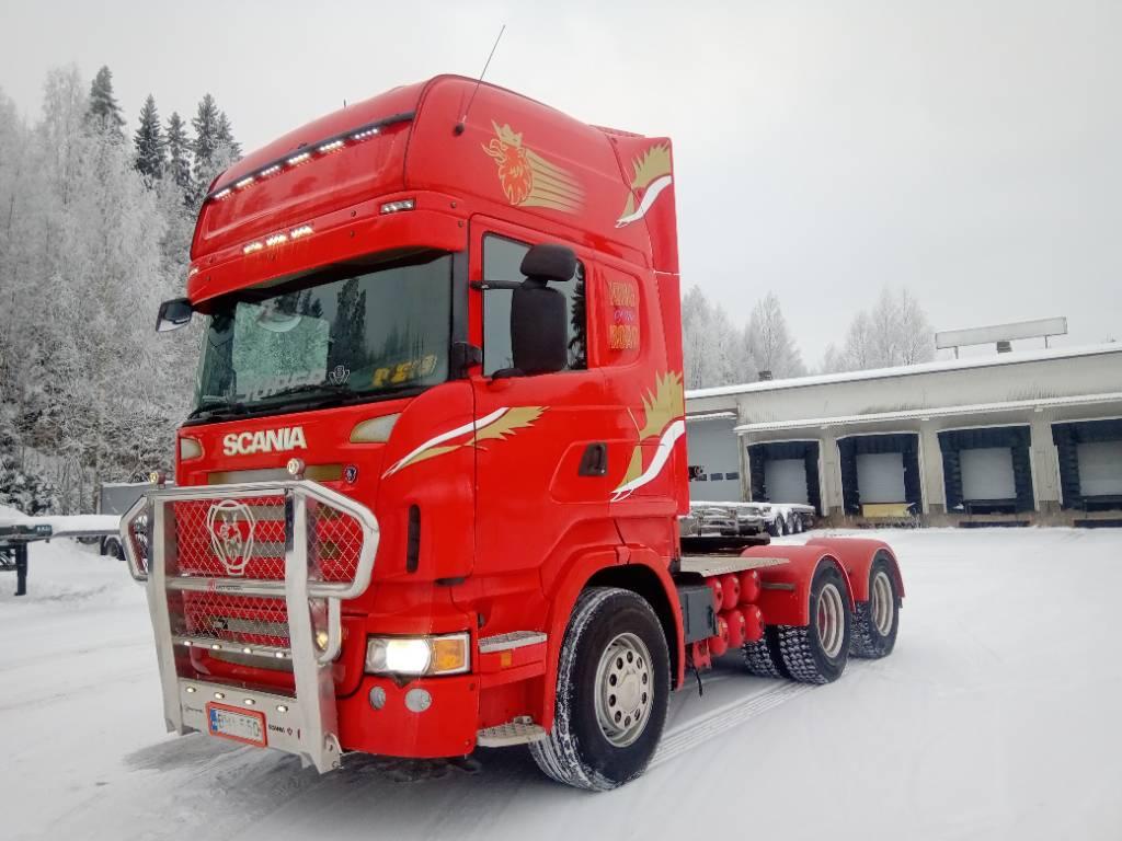 Scania R620 6x4 kippihydrauliikka,täysilmajousitus, Vetopöytäautot, Kuljetuskalusto