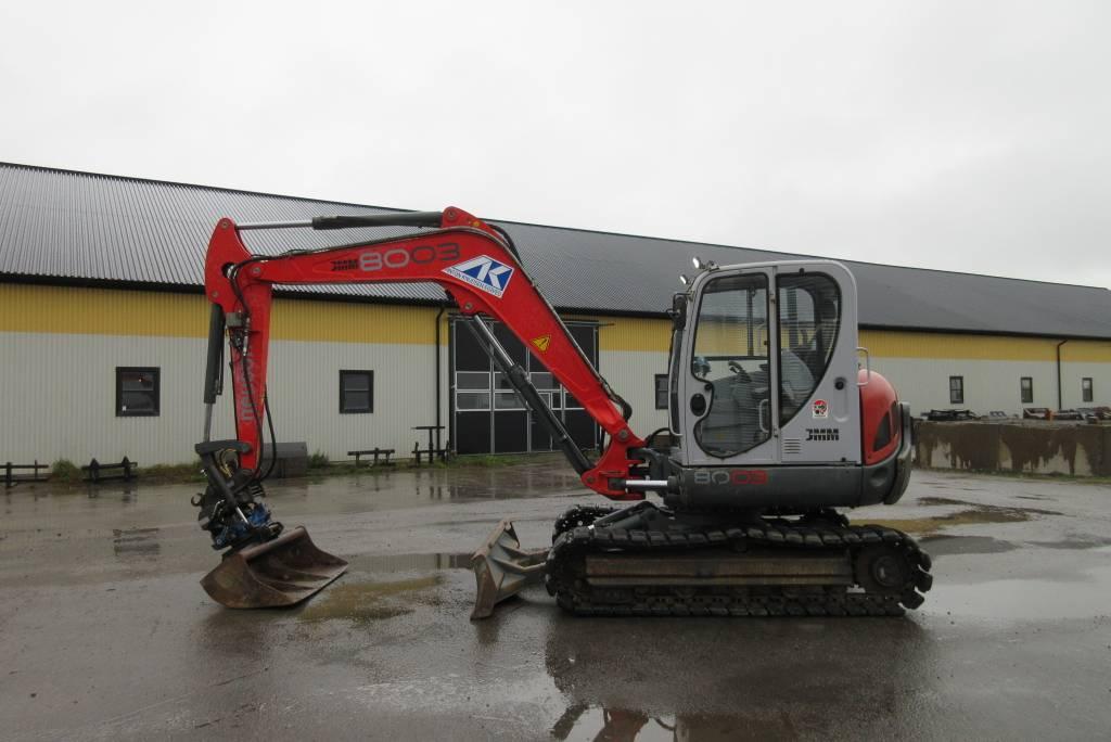 Neuson 8003 RD grävmaskin, rototilt, grävsystem, Midigrävmaskiner 7t - 12t, Entreprenad