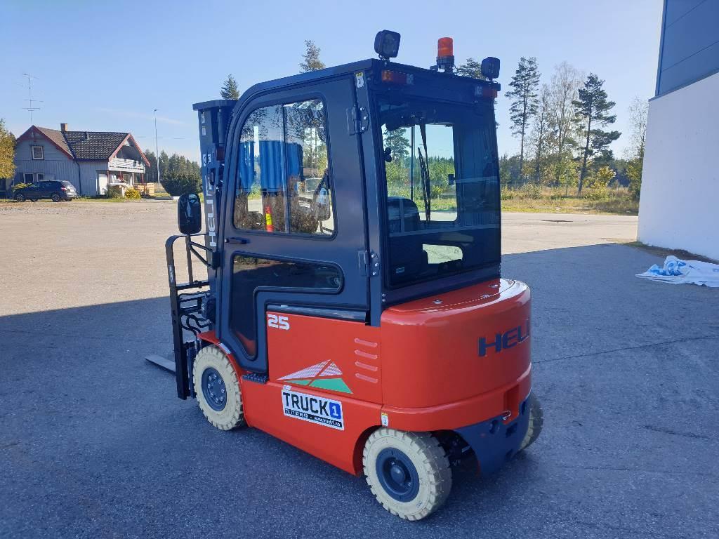 Heli CPD25-GD2 - 2,5 t el. truck - 4,7 m LH (PÅ LAGER), Elektriske trucker, Truck