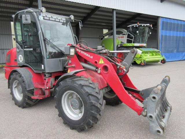 Weidemann 3070 CX 80, Traktorit, Maatalouskoneet