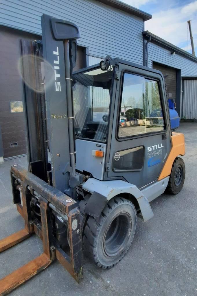 Still R70-50, Dieseltrukit, Materiaalinkäsittely