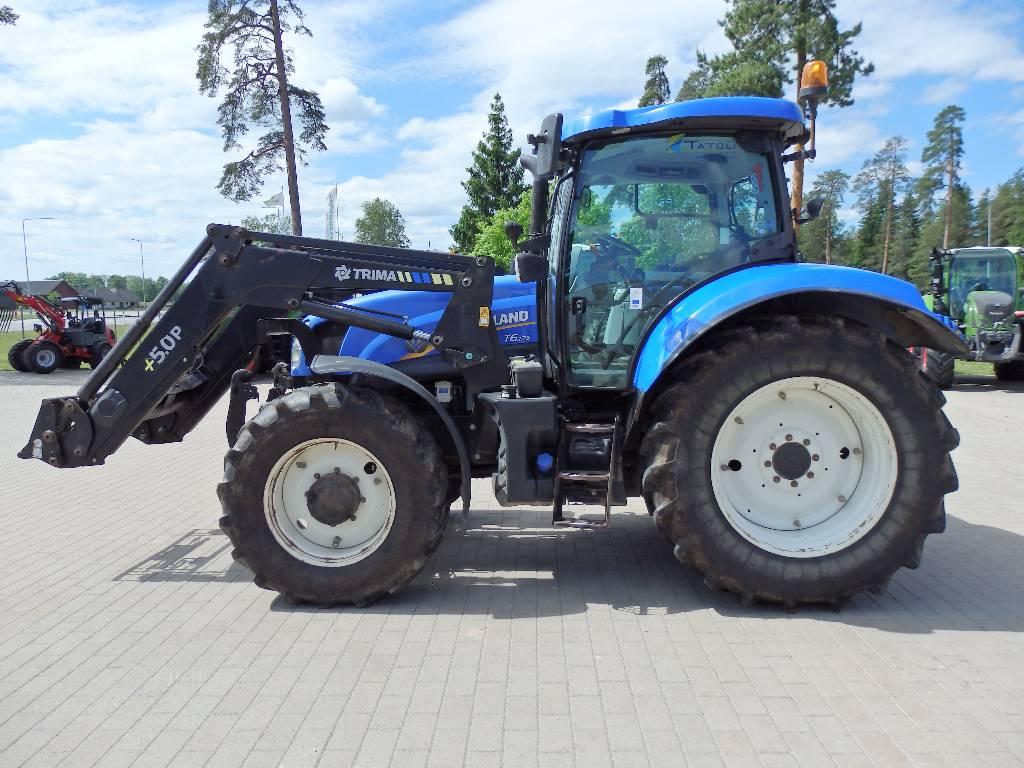 New Holland T 6.175, Traktorid, Põllumajandus