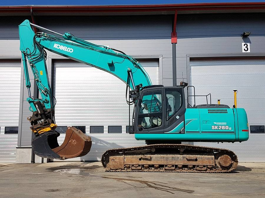 Kobelco SK 260 LC Acera Mark 9, Crawler excavators, Construction