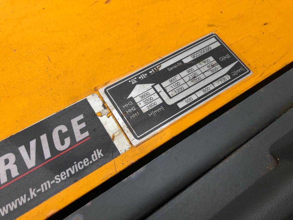 Jungheinrich ERC Z12, Selvkørende stablere, Trucks