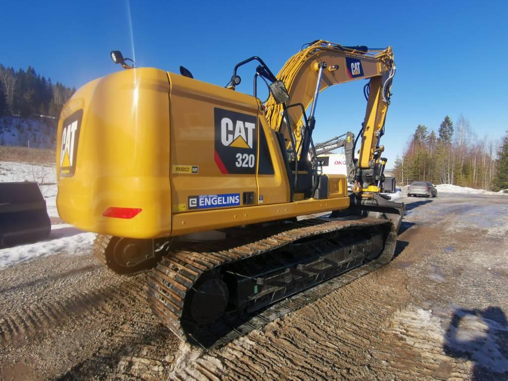 Caterpillar 320 Next Gen, UTHYRES, Bandgrävare, Entreprenad