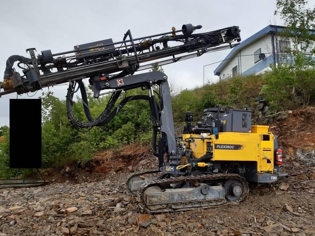 Atlas Copco Flexiroc T 30 R-01, Borrutrustning för ytborrning, Entreprenad