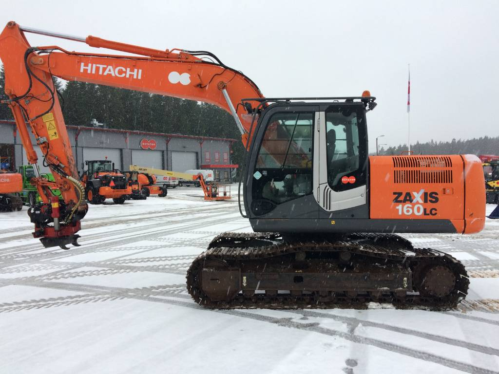Hitachi ZX 160 LC-3, Crawler excavators, Construction