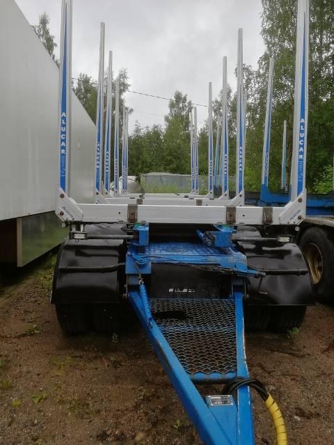 Jyki V 42 TJ, Puuperävaunut, Kuljetuskalusto