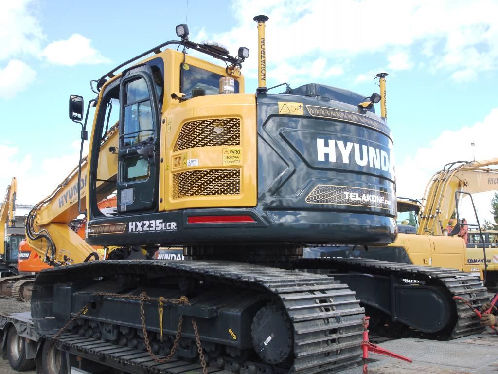 Hyundai HX 235 LCR UUSI 3D LAITTEILLA, Telakaivukoneet, Maarakennus