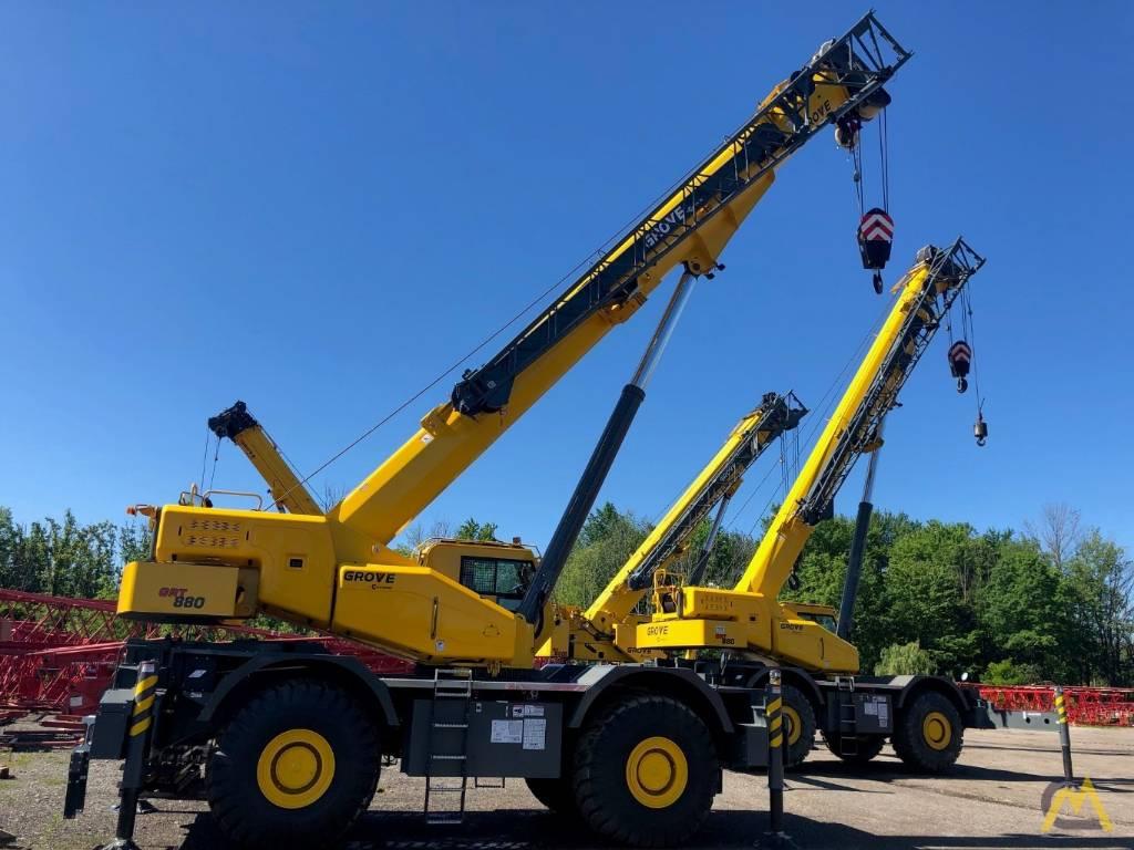 Grove GRT880, Crane Parts and Equipment, Construction Equipment