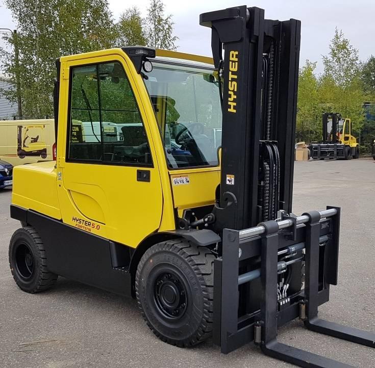 Hyster H 5.0 FT, Dieseltrukit, Materiaalinkäsittely