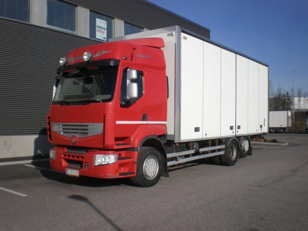 Renault Premium, Umpikorikuorma-autot, Kuljetuskalusto