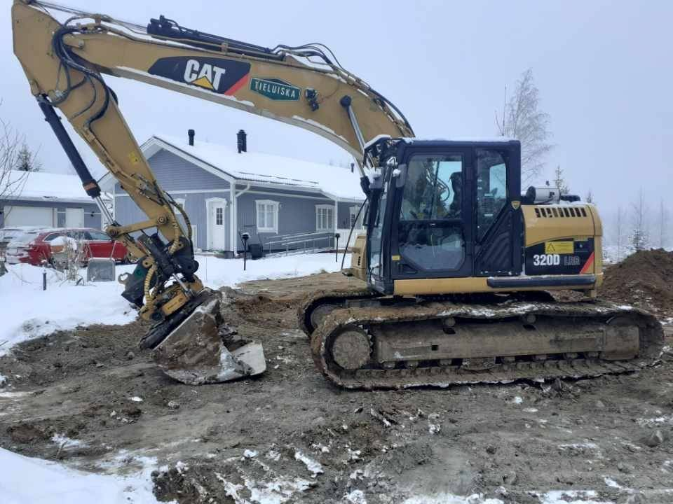 Caterpillar 320 D RR, Crawler excavators, Construction