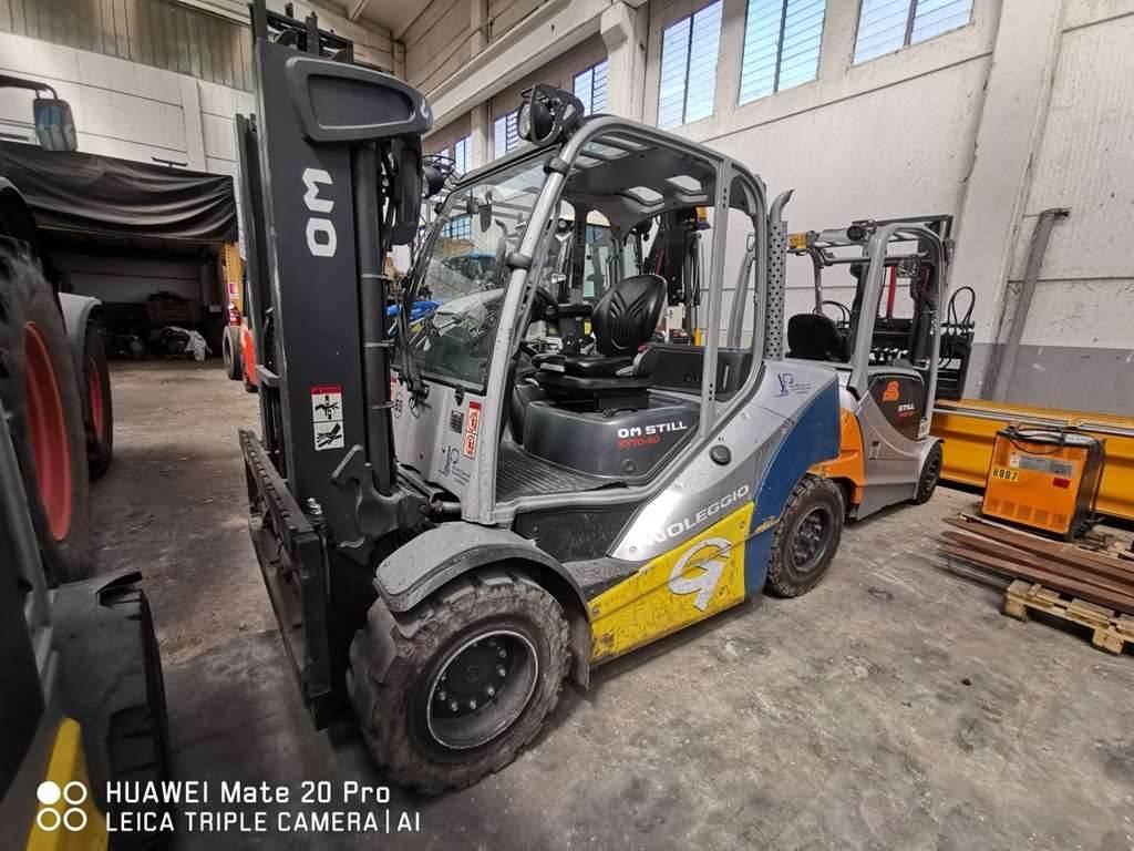 Still RX70-50, Diesel Forklifts, Material Handling