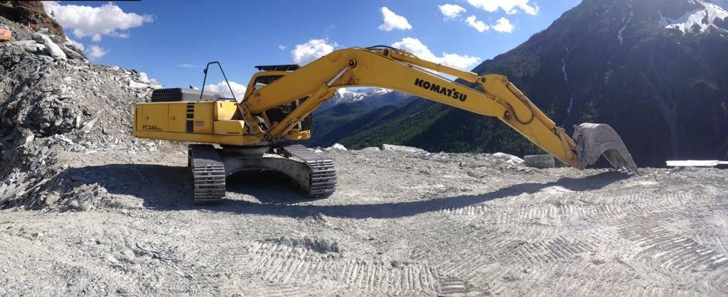 Komatsu PC340NLC-6K, Crawler Excavators, Construction Equipment
