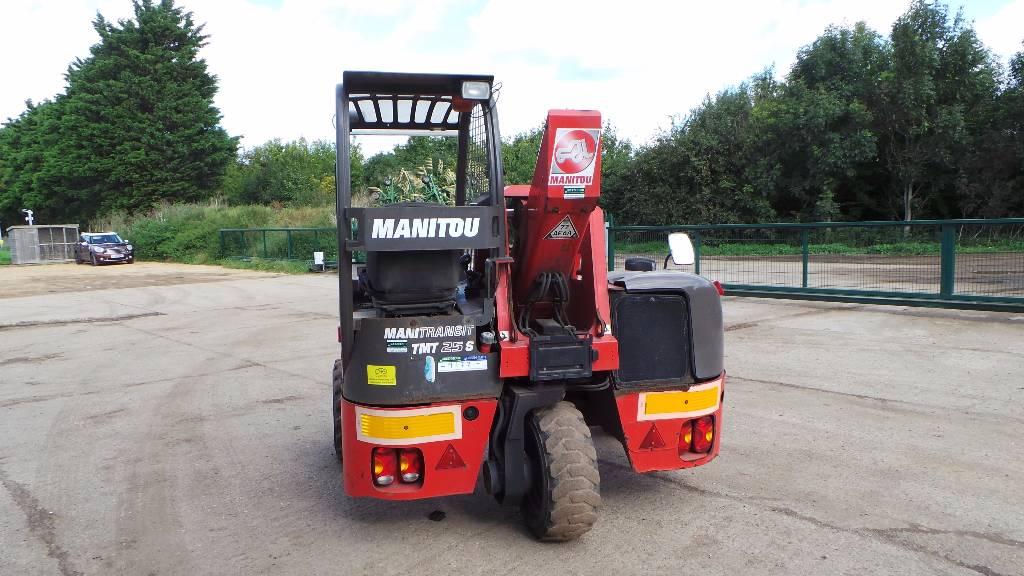Manitou TMT 25 S, Diesel trucks, Material Handling