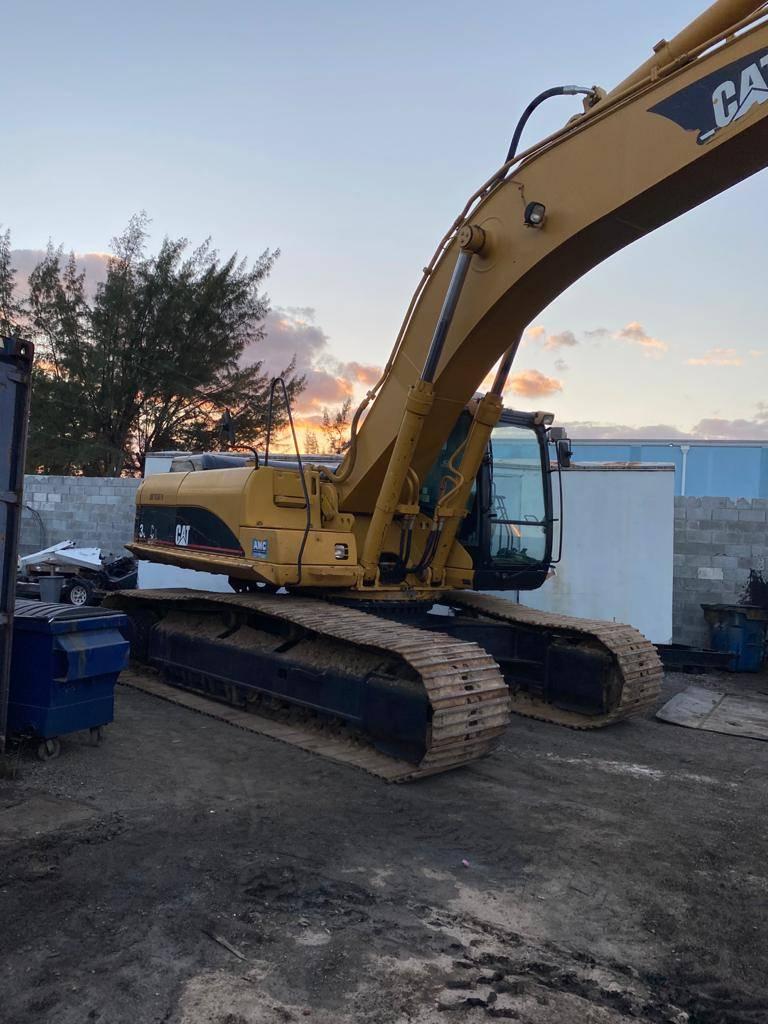 Caterpillar 330CL, Crawler Excavators, Construction Equipment