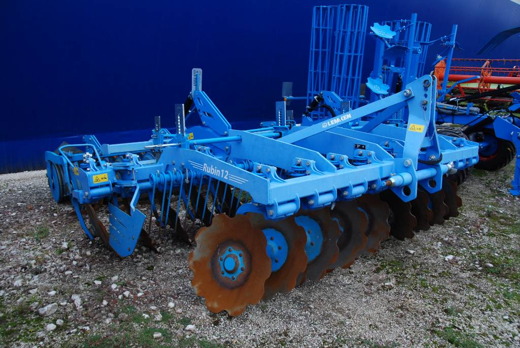 Lemken Rubin 12/400 U, Power harrows and rototillers, Agriculture