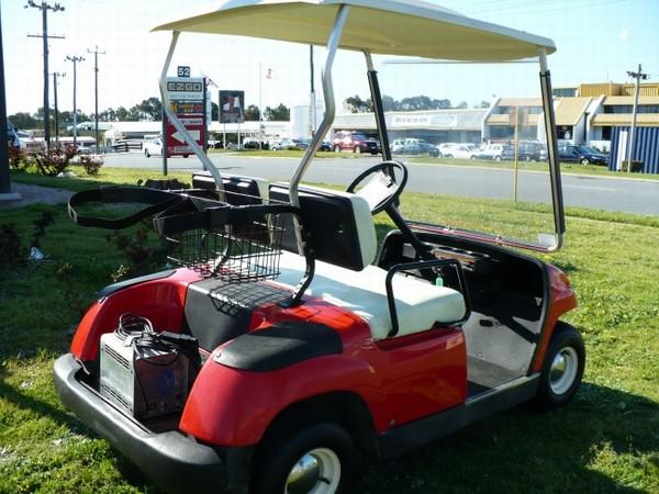 Used yamaha g19e electric golf car golf carts year 2001 for Yamaha golf cart id
