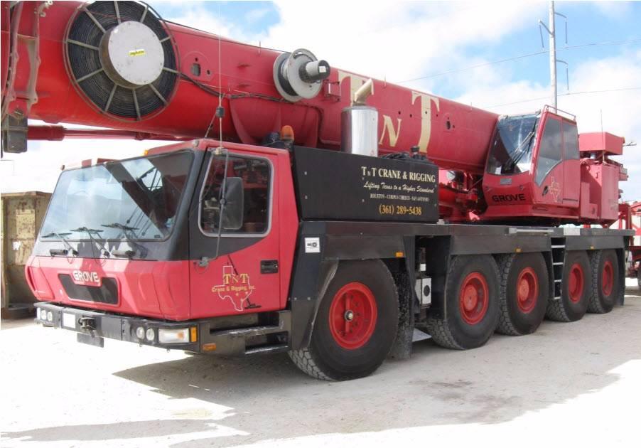 Grove GMK 4100, All Terrain Cranes and Hydraulic Truck Cranes, Construction Equipment