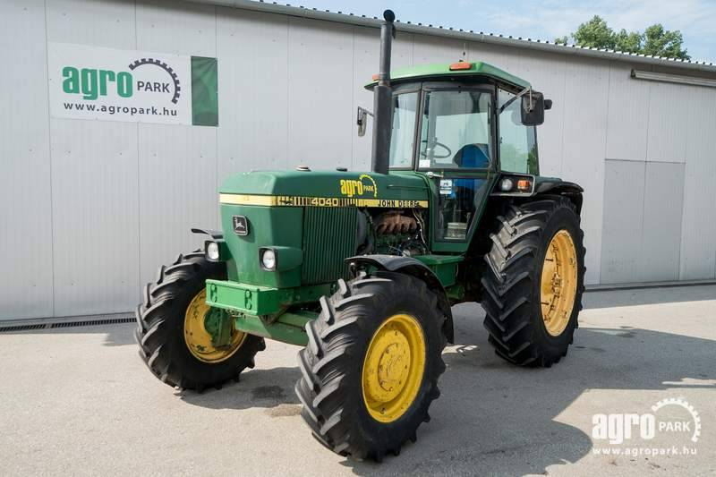 John Deere 4040 (9505 hours), 2 pairs of SCVs