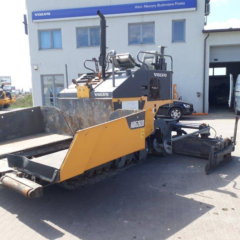 Volvo ABG2820, Asphalt pavers, Construction Equipment