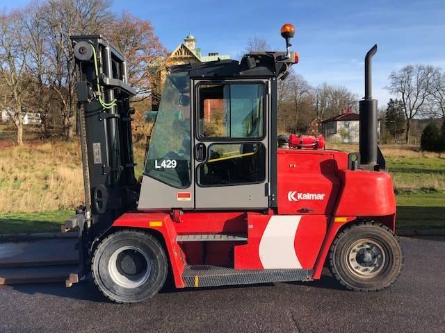 Kalmar DCE80-6HE, Diesel trucks, Material Handling
