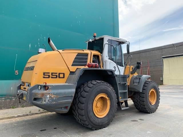Liebherr L 550, Wheel loaders, Construction