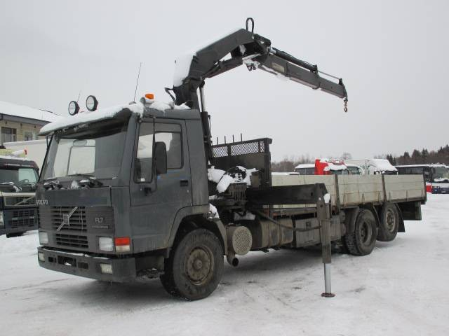 Volvo FL7 HIAB 205-2, Kraanaga veokid, Transport
