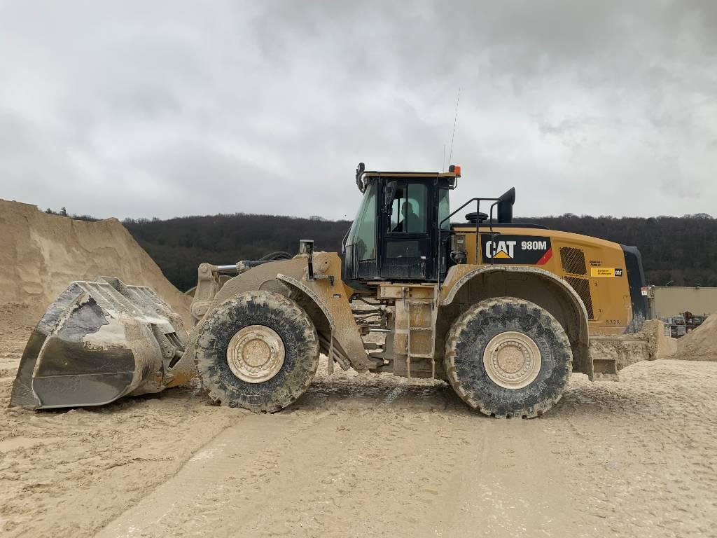 Caterpillar 980 M, Wheel loaders, Construction