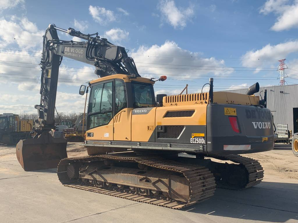 Volvo EC 250 D L, Crawler excavators, Construction