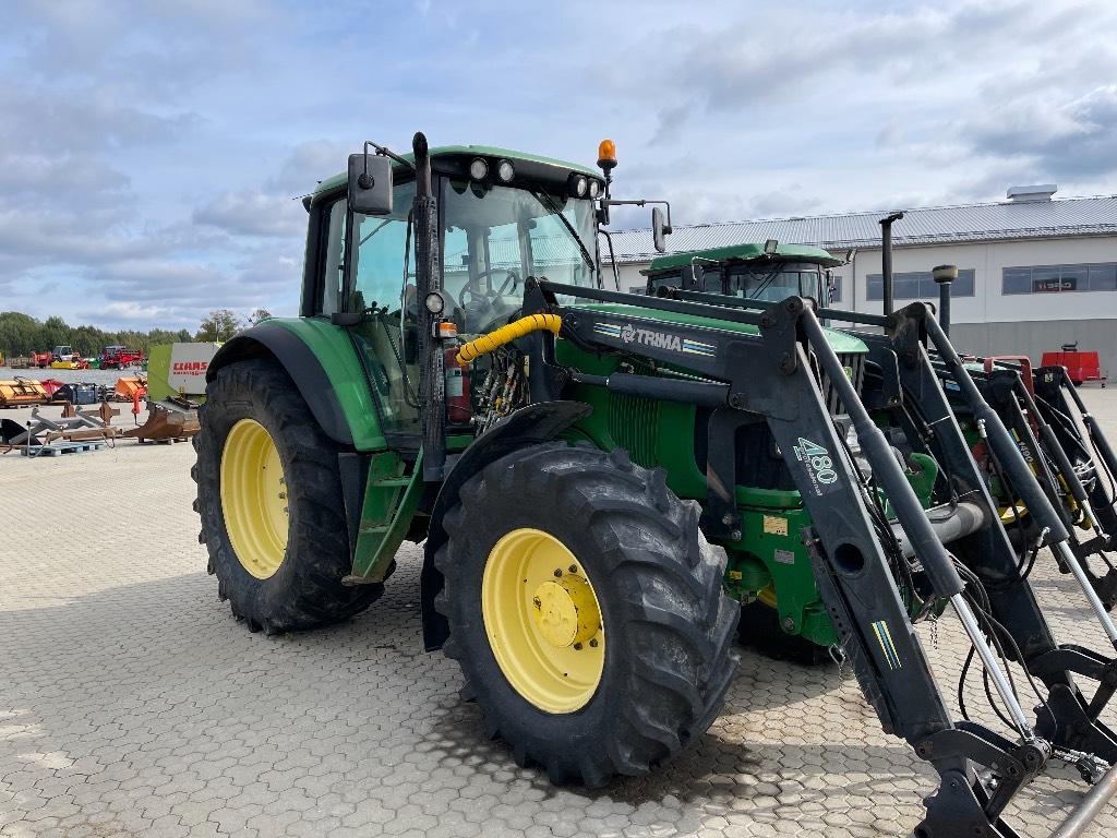 John Deere 6920 PQ Eco, FL, TLS Trima 4.80, Traktorer, Lantbruk