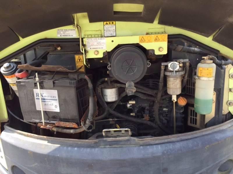 Yanmar ViO40-5、油圧ショベル(ユンボ・パワーショベル・バックホー) 7t-12t、建設機械