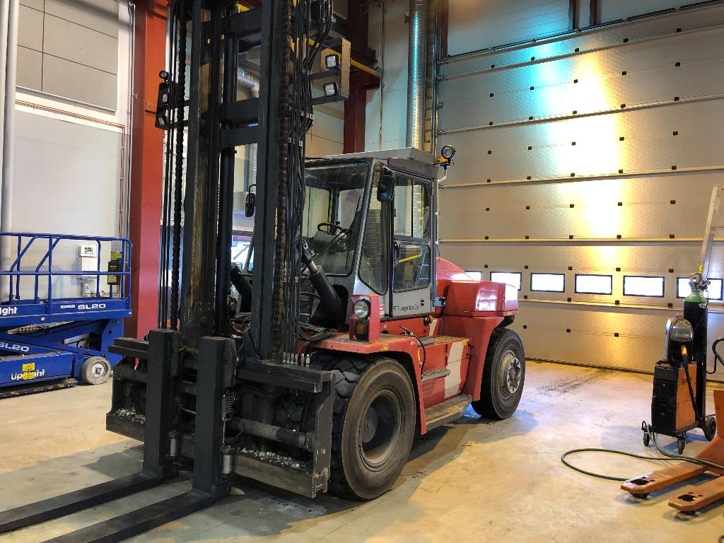 Kalmar DCE 120-S, Dieseltrukit, Materiaalinkäsittely