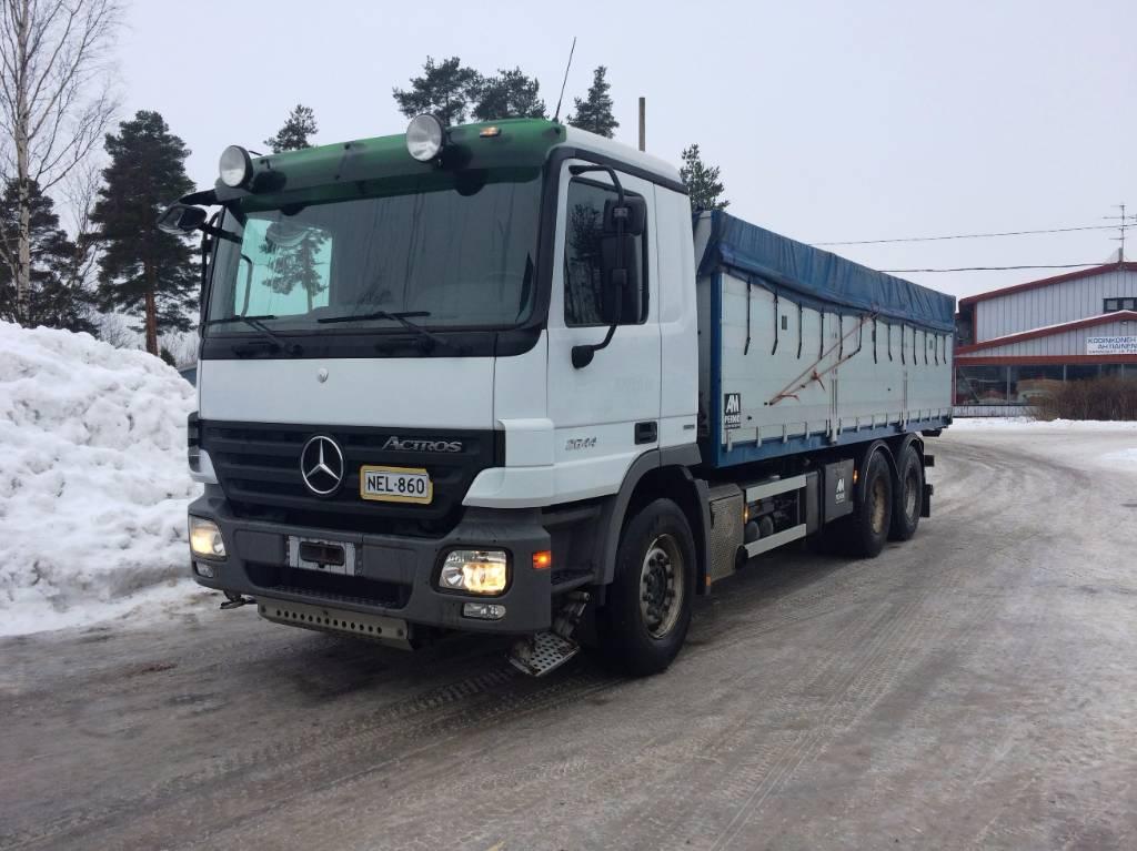 Mercedes-Benz 2644, Vilja-autot, Kuljetuskalusto