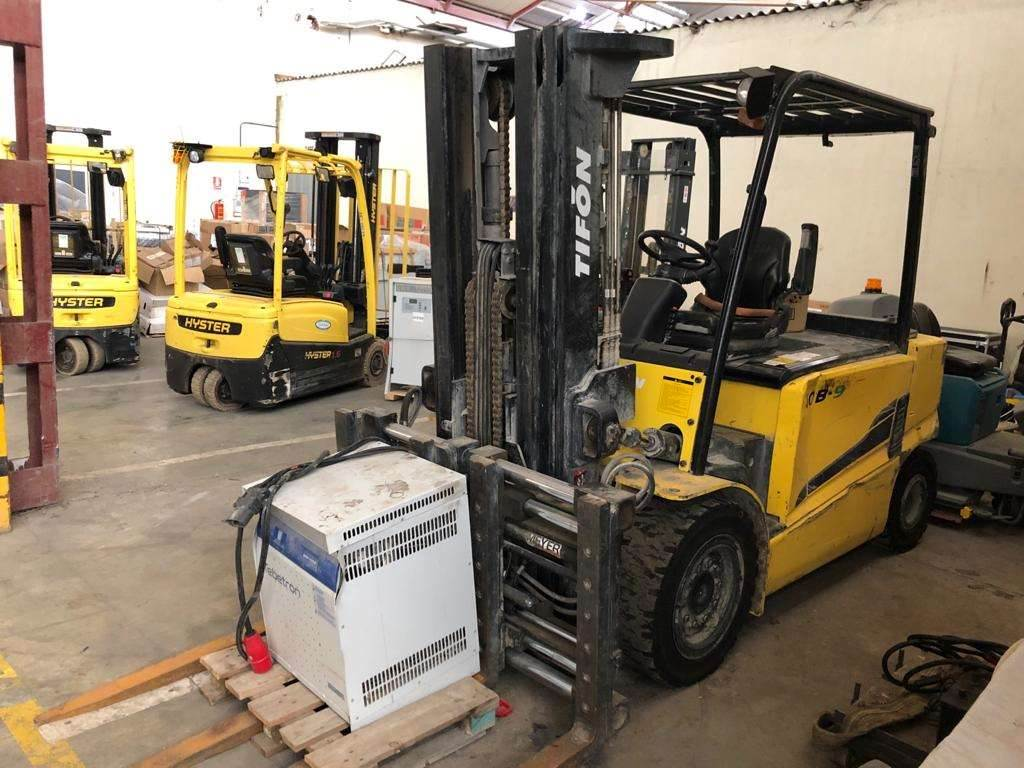 [Other] tifon-Hyundai 40B-9, Electric Forklifts, Material Handling